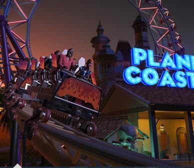 Planet Coasterがスゴイ!動画や値段とスペックを公開!やっぱビデオカードが!?Ryzen 3 2200Gで動く!