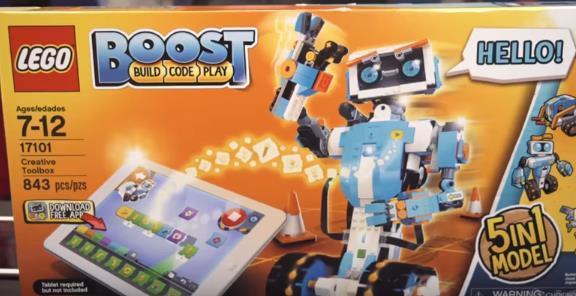 「LEGO Boost」レゴブースト・ロボットが手頃でヤバい!値段や種類と動画や画像も紹介!