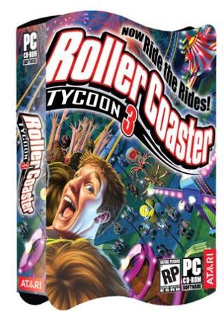 ローラーコースタータイクーン3・RCT3がアプリで動く!PC版の日本語化やチートコードも公開!PlanetCoasterも欲しい!