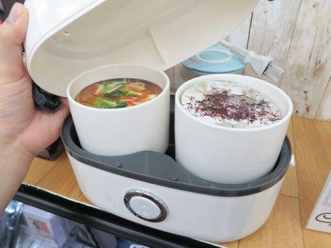 「お一人様用 炊飯器」が人気らしい!?カレーや茹卵や温野菜なども作れる【オフィスで炊き立て】