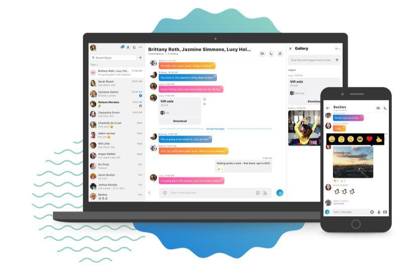 スカイプとは?簡単ダウンロード方法!無料通話が出来るアプリ使い方
