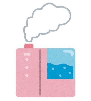 加湿器の効果やカビ臭い時の掃除と種類を紹介!